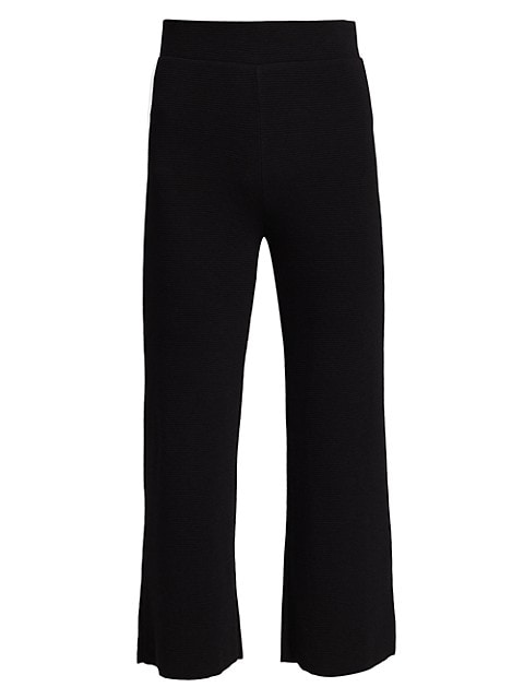 Steff Wide-Leg Pull-On Cropped Pants