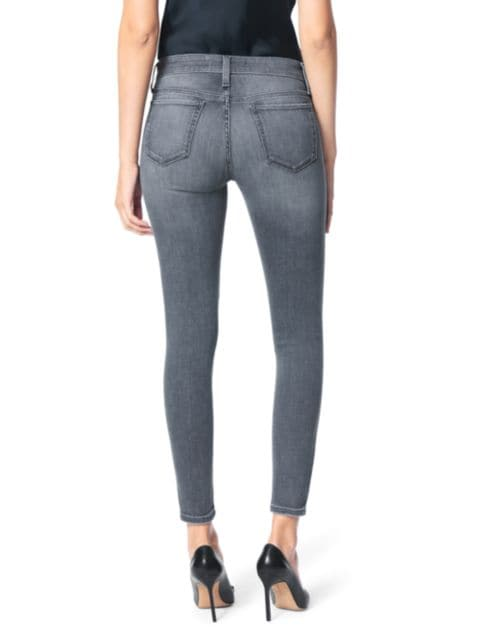 Joe's Jeans The Icon Mid-Rise Distressed Ankle Jeans   SaksFifthAvenue