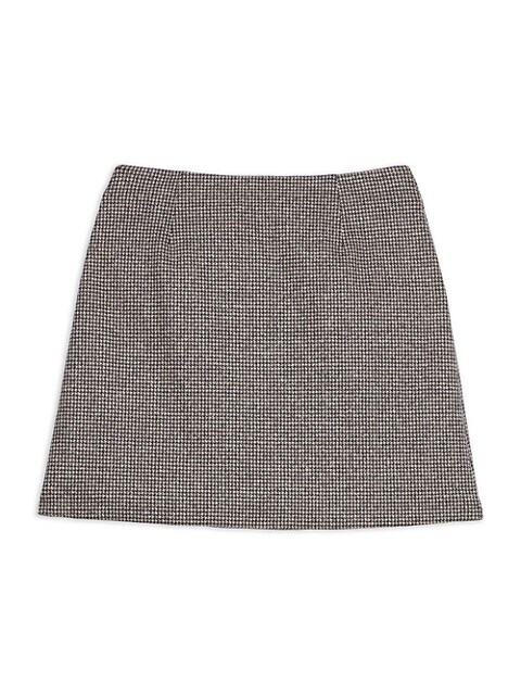 Theory A-Line Mini Skirt