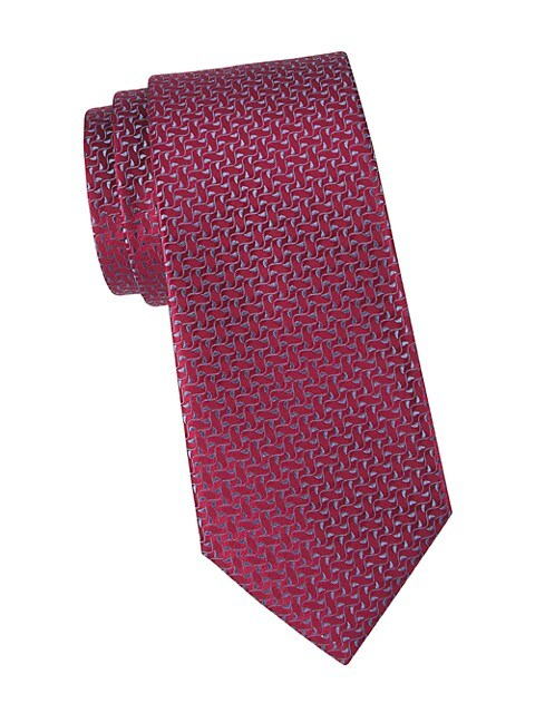 Ivy Leaf Silk Tie