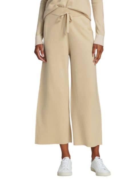 ATM Anthony Thomas Melillo Cropped Knit Pants   SaksFifthAvenue