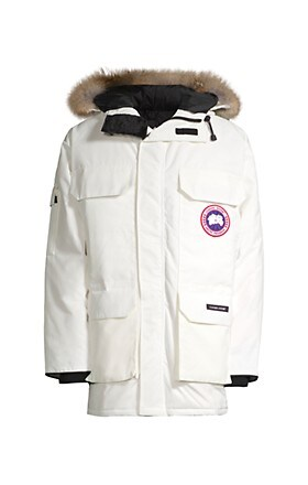 Canada Goose Expedition Coyote Fur-Trim Down Parka