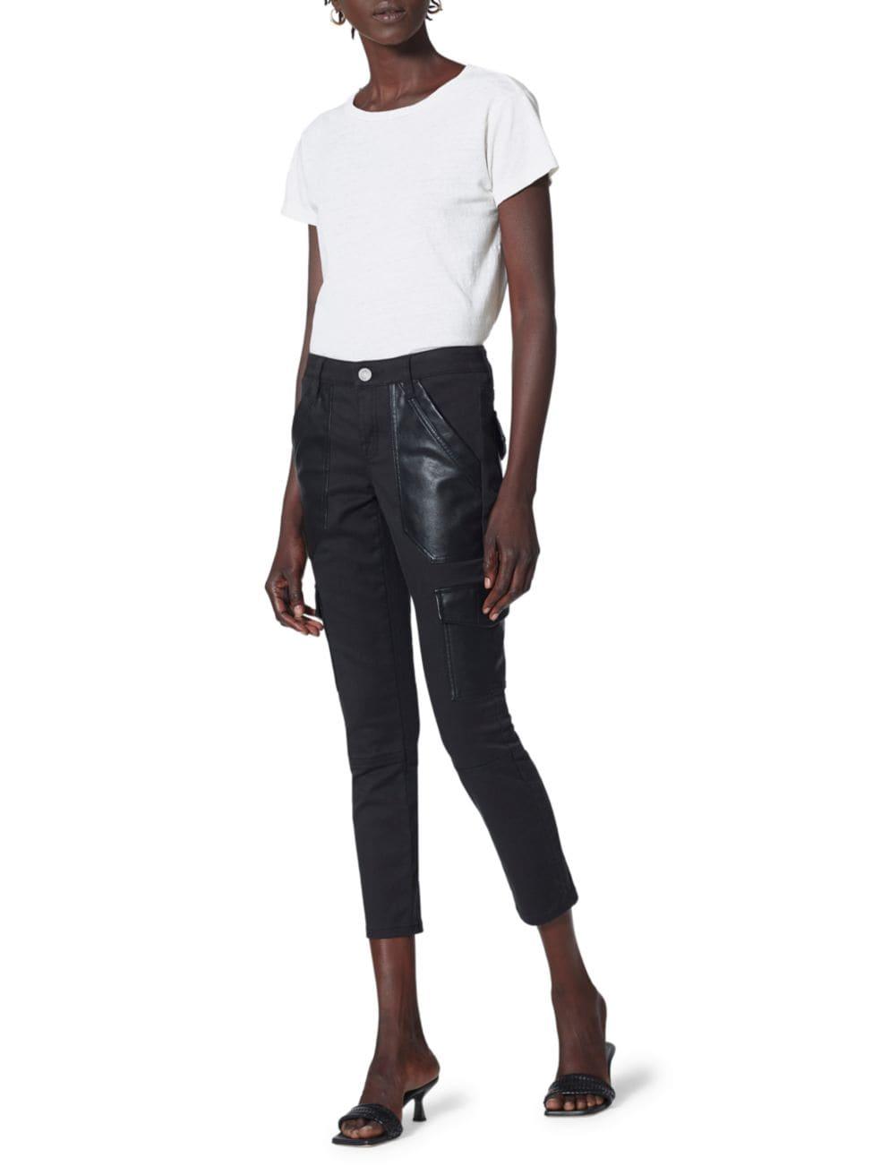 Joie Okana Cropped Skinny Pants | SaksFifthAvenue