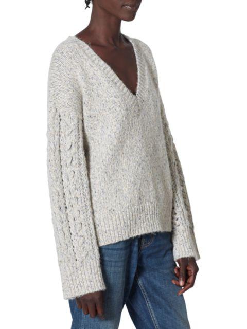 Joie Milani V-Neck Sweater   SaksFifthAvenue
