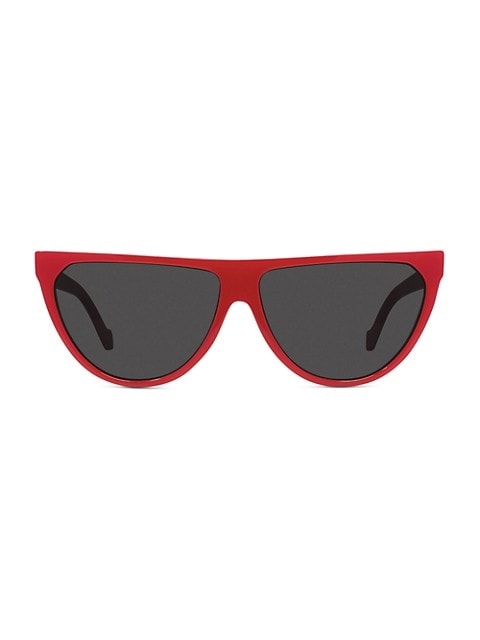 61MM Flat-Top Sunglasses
