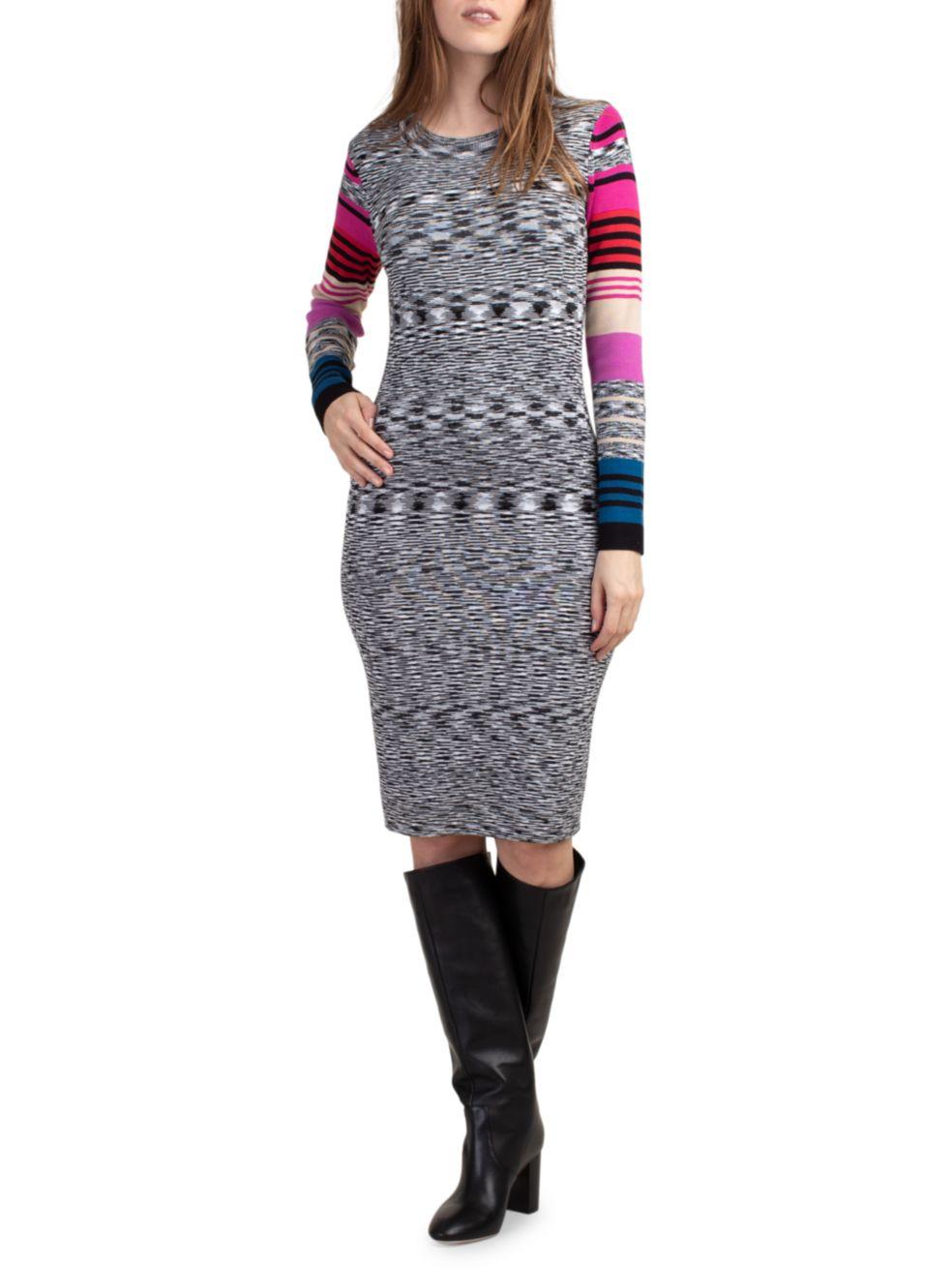 Trina Turk Dialogue Bodycon Dress | SaksFifthAvenue