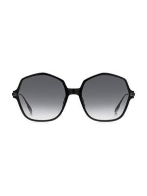 Dior DiorLink2 59MM Hexagonal Sunglasses