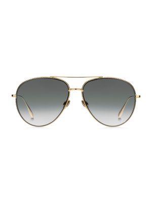 Dior DiorSociety3 57MM Aviator Sunglasses