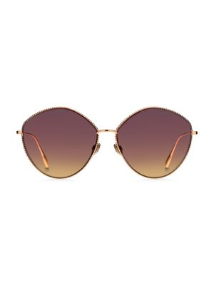 Dior DiorSociety4 61MM Butterfly Sunglasses