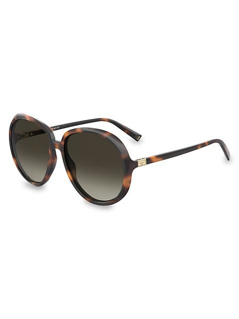 61MM Oversized Round Sunglasses