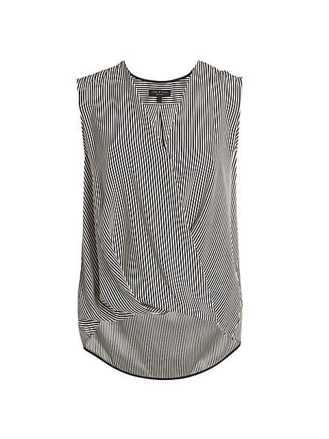 Victor Sleeveless Blouse