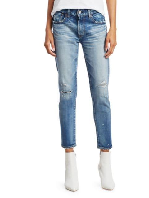 Moussy Vintage Lancaster Mid-Rise Skinny Jeans   SaksFifthAvenue
