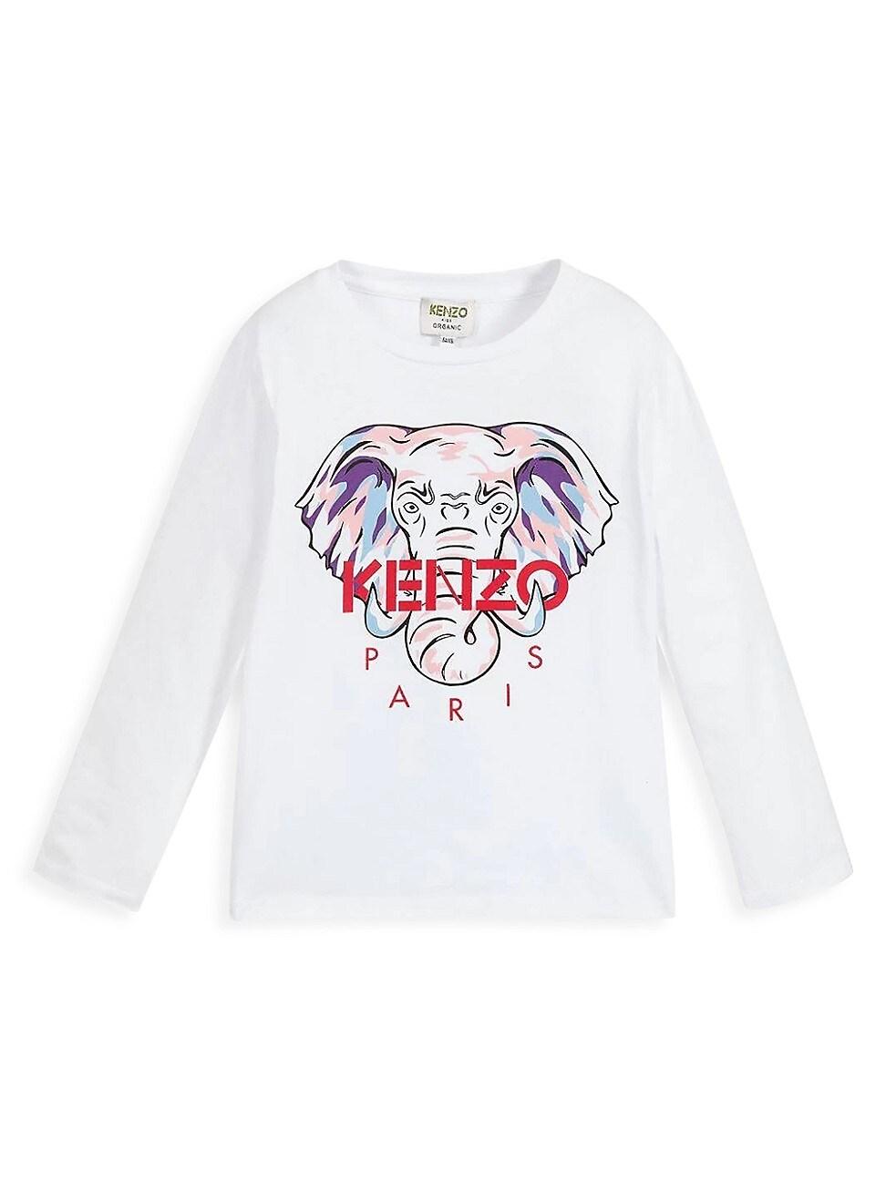 Kenzo LITTLE GIRL'S & GIRL'S KARINA LOGO LONG-SLEEVE