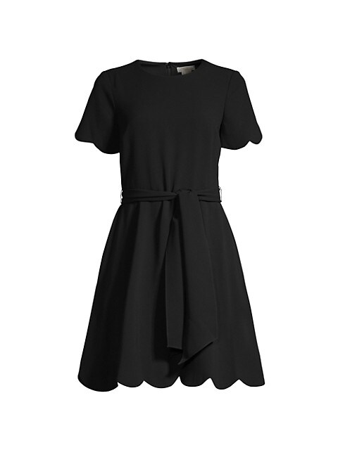 Jet Stretch Crepe Dress