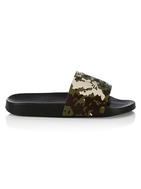 Basile Camouflage Slide Sandals