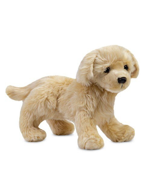 Plush Golden Retriever Toy