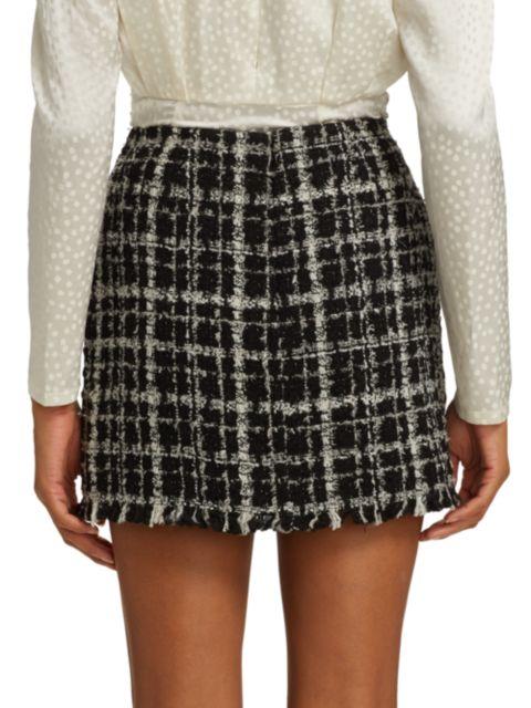 Ronny Kobo Quinn Tweed Skirt | SaksFifthAvenue