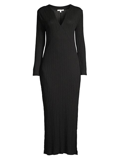 Ruthie Ribbed Midi Dress