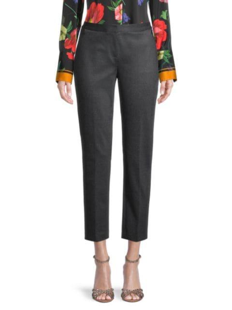 Kobi Halperin Gayle Cropped Knit Pants | SaksFifthAvenue