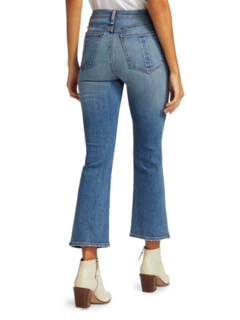 Rag & Bone Nina High-Rise Ankle Flared Jeans | SaksFifthAvenue