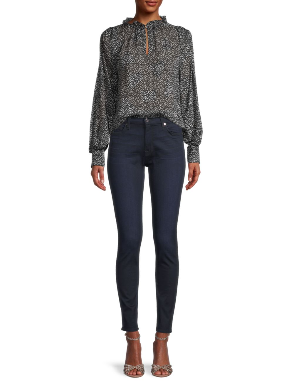 Rebecca Taylor Meadow Long-Sleeve Blouse | SaksFifthAvenue