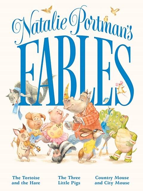 Natalie Portman's Fables Hardcover Book