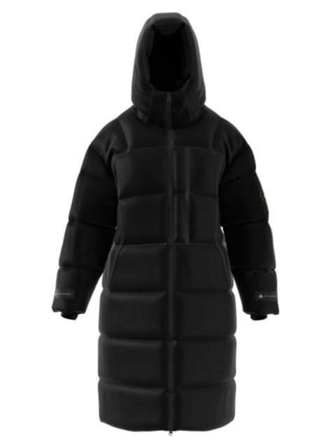 Adidas by Stella McCartney Long Hooded Puffer Coat   SaksFifthAvenue