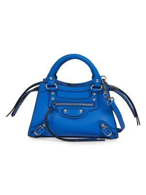Balenciaga Leathers Mini Neo Classic City Bag