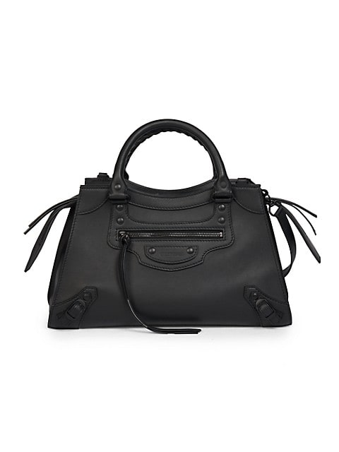 Small Neo Classic Leather Satchel