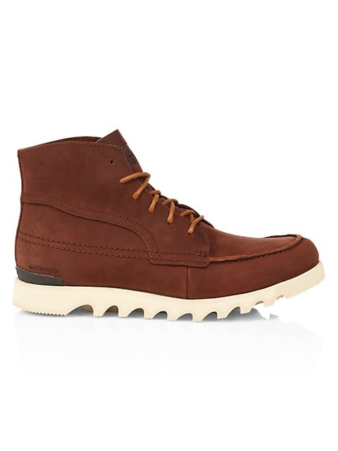 Mens Kezar™ Grained Leather Boots