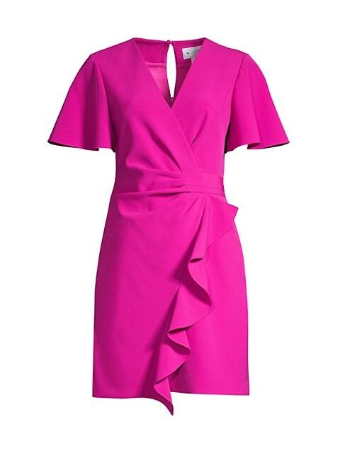 Greta Ruffle Mini Dress
