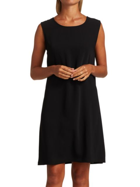 Caroline Rose Suzette Crepe Dress | SaksFifthAvenue