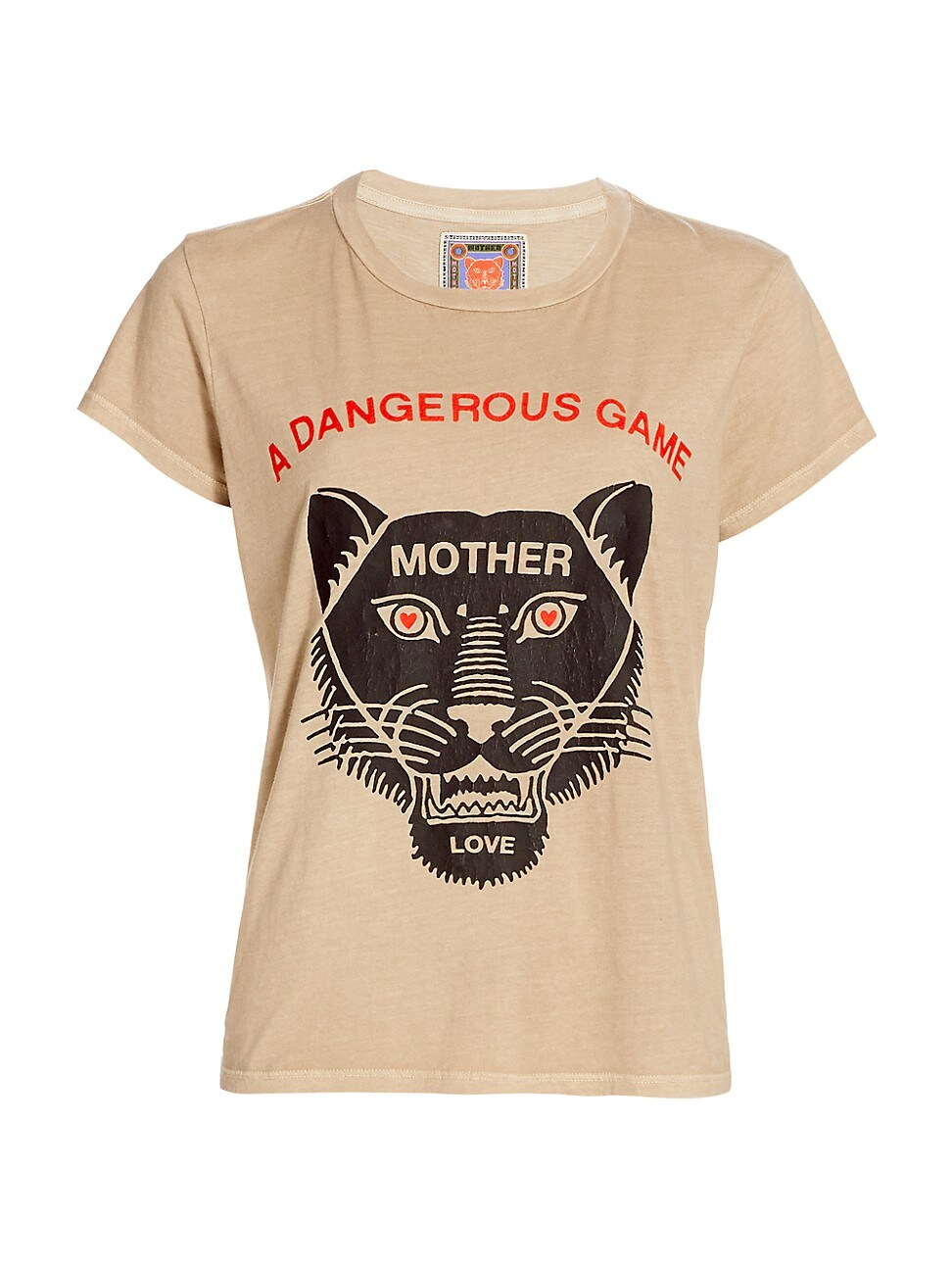 MOTHER WOMEN'S THE BOXY GOODIE GOODIE GRAPHIC T-SHIRT
