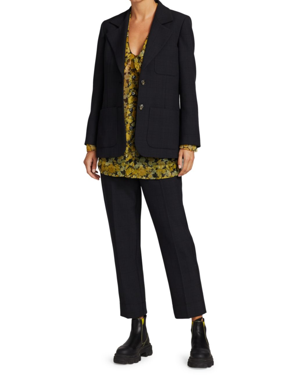 Ganni Suit Jacket | SaksFifthAvenue