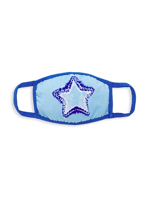 Embellished Star Face Mask