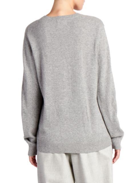 Loulou Studio New Serafini V-Neck Cashmere Sweater | SaksFifthAvenue