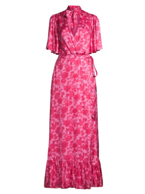 FAME AND PARTNERS The Cicely Garden Dress   SaksFifthAvenue