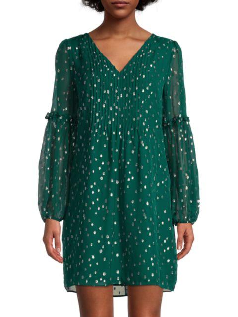 Lilly Pulitzer Cleme Silk-Blend Dress | SaksFifthAvenue