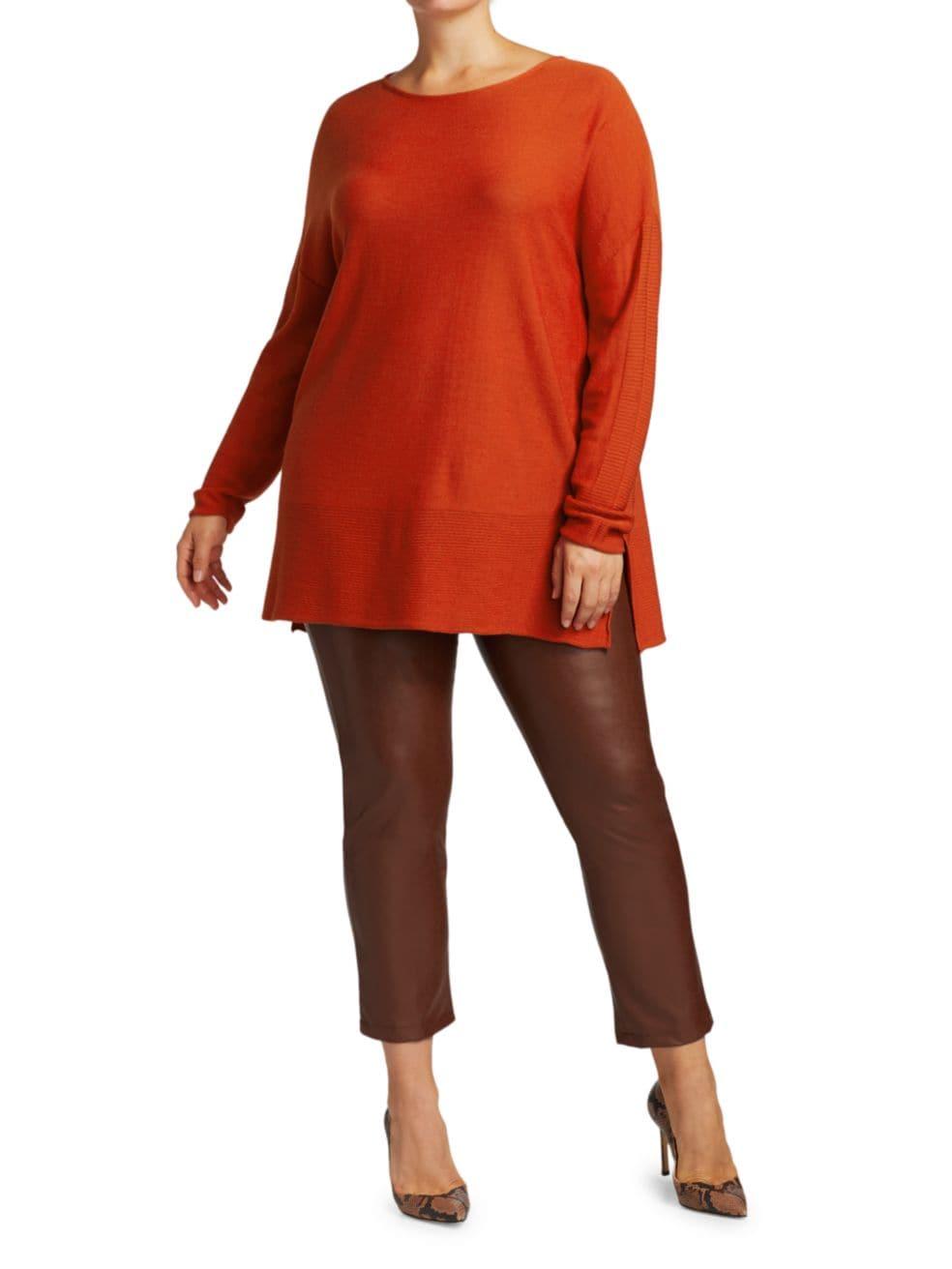 Marina Rinaldi, Plus Size Ambra Virgin Wool-Blend Tunic   SaksFifthAvenue