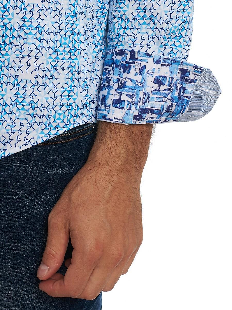 ROBERT GRAHAM Cottons MEN'S BETTS PRINTED SHIRT