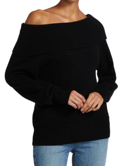 Paige Jeans Izabella Off-The-Shoulder Sweater   SaksFifthAvenue