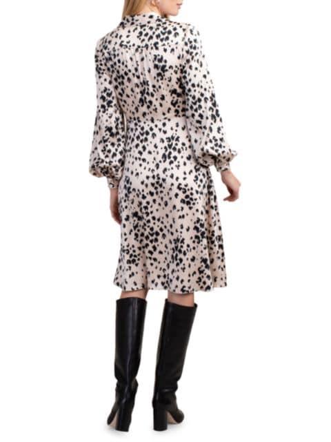 Trina Turk Printed Confidential Wrap Dress   SaksFifthAvenue