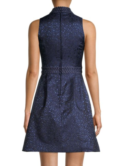 Lilly Pulitzer Francie Embroidered-Tim Printed Sleeveless Dress | SaksFifthAvenue