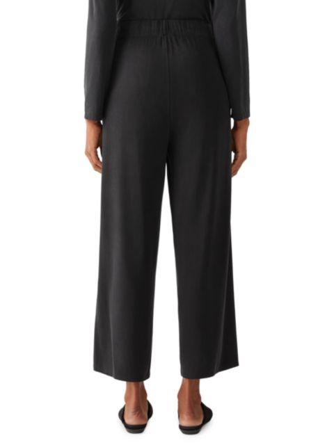 Eileen Fisher Wide Ankle Pleated Pants | SaksFifthAvenue