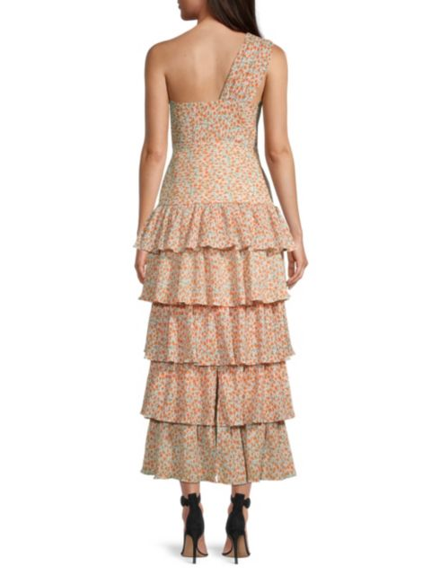 Significant Other Escape Tiered Dress   SaksFifthAvenue