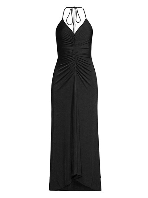 Giselle Ruched-Front Dress