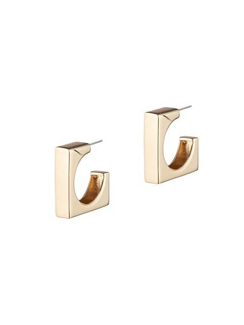 Ryder Square Huggie Earrings