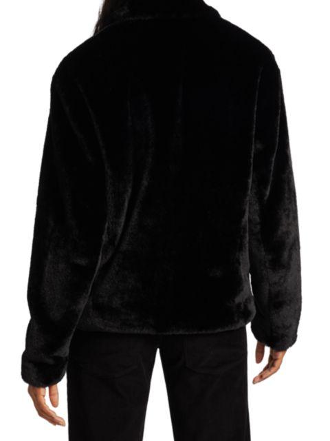 RtA Reese Fleece Jacket | SaksFifthAvenue
