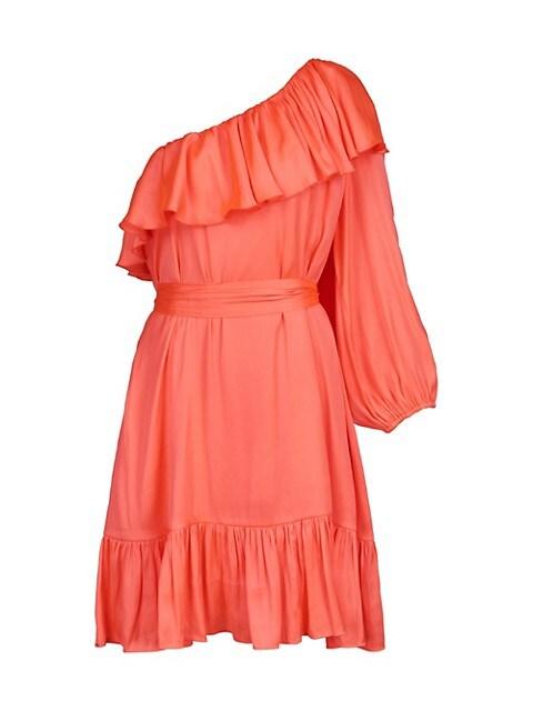 Wonderland Asymmetrical Mini Dress