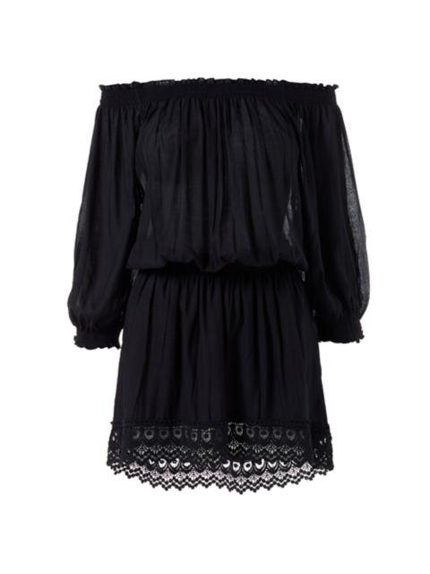 Melissa Odabash Ivy Off-the-Shoulder Dress | SaksFifthAvenue